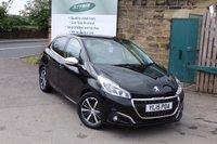 2015 PEUGEOT 208 1.2 PURETECH S/S ALLURE 5d AUTO 110 BHP £7495.00