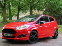USED 2017 66 FORD FIESTA 1.0 ST-LINE RED EDITION 3d 139 BHP