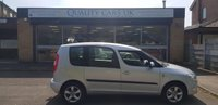 USED 2013 13 SKODA ROOMSTER 1.2 GREENLINE TDI CR 5d 74 BHP
