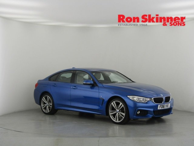 View our 2016 16 BMW 4 SERIES 2.0 420D XDRIVE M SPORT GRAN COUPE 4d AUTO 188 BHP