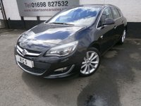 USED 2013 63 VAUXHALL ASTRA 1.6 ELITE 5dr VERY HIGH SPEC