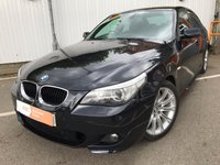 USED 2004 BMW 5 SERIES 3.0 535d Sport Saloon 4dr Diesel Automatic (211 g/km, 272 bhp) ONE OWNER FROM NEW