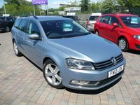 2012 VOLKSWAGEN PASSAT 1.6 SE TDI BLUEMOTION TECHNOLOGY 5d 104 BHP £4999.00