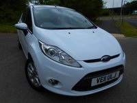 USED 2011 11 FORD FIESTA 1.2 ZETEC 5d 81 BHP ** LOW INSURANCE, LOW TAX, YES ONLY 26K FROM NEW , SUPERB VEHICLE THROUGHOUT **