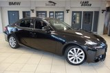 USED 2015 64 LEXUS IS 2.5 300H EXECUTIVE EDITION 4d AUTO 179 BHP FINISHED IN STUNNING OBSIDIAN BLACK WITH FULL LEATHER SEATS + SATELLITE NAVIGATION + HID HEADLIGHTS + £20 ROAD TAX + BLUETOOTH + DAB RADIO + HEATED FRONT SEATS + LED DAYTIME LIGHTS + PARKING SENSORS + 17 INCH ALLOYS + AIR CONDITIONING