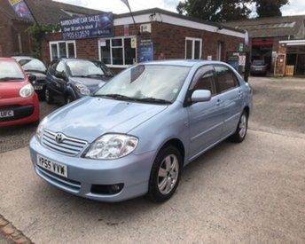 2005 TOYOTA COROLLA 1.4 COLOUR COLLECTION VVT-I 4d 92 BHP £1799.00