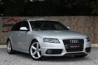 USED 2010 D AUDI A4 2.0 AVANT TDI S LINE SPECIAL EDITION 5d 141 BHP