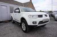 USED 2012 62 MITSUBISHI L200 Barbarian Double Cab LWB 4WD 2.5 DI-D ( 175 bhp ) One Previous Owner Full Service History Top Of The Range Barbarian Model
