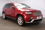 USED 2014 14 JEEP GRAND CHEROKEE 3.0 V6 CRD SUMMIT 5DR AUTO SERVICE HISTORY PANORAMIC ROOF 247 BHP JEEP SERVICE HISTORY + HEATED/COOLED SEATS - HEATED REAR SEATS + SATELLITE NAVIGATION + REVERSE CAMERA + PANORAMIC ROOF + PARKING SENSOR + BLUETOOTH + CRUISE CONTROL + CLIMATE CONTROL + PRIVACY GLASS + ELECTRIC/MEMORY SEATS + XENON HEADLIGHTS + DAB RADIO + HEATED STEERING WHEEL + ELECTRIC WINDOWS + RADIO/CD/AUX/USB/SD + ELECTRIC MIRRORS + 20 INCH ALLOY WHEELS