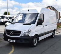 USED 2016 16 MERCEDES-BENZ SPRINTER 2.1 313 CDI Mwb High Roof 129 BHP