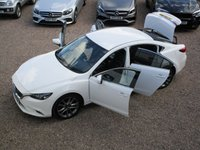 USED 2016 66 MAZDA 6 2.2 D SPORT NAV 4d 148 BHP 1 OWNER FROM NEW, FSH, HEADS UP DISPLAY, SAT NAV, FULL LEATHER, READ OUR 5 STAR REVIEWS