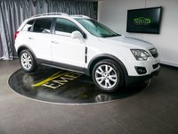 USED 2013 63 VAUXHALL ANTARA 2.2 SE NAV CDTI S/S 5d 161 BHP £0 DEPOSIT FINANCE AVAILABLE, AIR CONDITIONING, AUTOMATIC HEADLIGHTS, BLUETOOTH CONNECTIVITY, CLIMATE CONTROL, CRUISE CONTROL, DAYTIME RUNNING LIGHTS, ELECTRONIC PARKING BRAKE, FULL LEATHER UPHOLSTERY, HEATED SEATS, PARKING SENSORS, SATELLITE NAVIGATION, STEERING WHEEL CONTROLS, TRIP COMPUTER