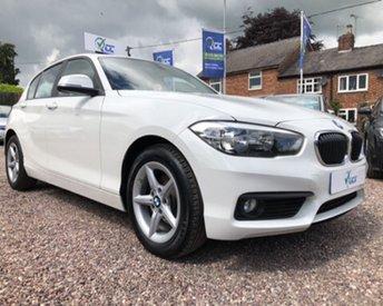2016 BMW 1 SERIES 1.5 116D SE 5d 114 BHP £13595.00