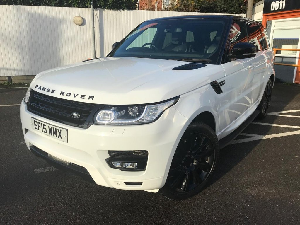USED 2015 15 LAND ROVER RANGE ROVER SPORT 3.0 SD V6 HSE 4X4 (s/s) 5dr *PAN ROOF, SIDE STEPS + MORE*