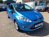 USED 2011 61 FORD FIESTA 1.2 ZETEC 5d 81 BHP FULL SERVICE HISTORY / USB / AUDIO POINT