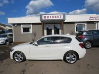 2013 BMW 1 SERIES 2.0 118D M SPORT 5DR AUTOMATIC DIESEL 141 BHP+++£30 ROAD TAX+++