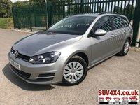 USED 2014 14 VOLKSWAGEN GOLF 1.6 S TDI BLUEMOTION TECHNOLOGY 5d 103 BHP BLUETOOTH A/C MOT 05/20 NOW SOLD.