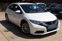 USED 2012 62 HONDA CIVIC 1.3 I-VTEC SE 5d 98 BHP **** BEAUTIFUL CONDITION  ****