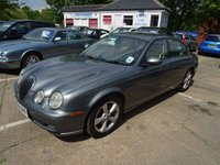 2004 JAGUAR S-TYPE 2.5 V6 SPORT 4d AUTO 201 BHP £1495.00