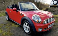 USED 2010 10 MINI CONVERTIBLE 1.6 COOPER 2d 122 BHP COOPER CONVERTIBLE, SUMMER BARGAIN,PX TO CLEAR!!!