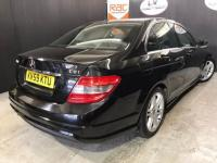 USED 2009 59 MERCEDES-BENZ C CLASS 2.1 C220 CDI BlueEFFICIENCY Sport 4dr RAC APPROVED GARAGE