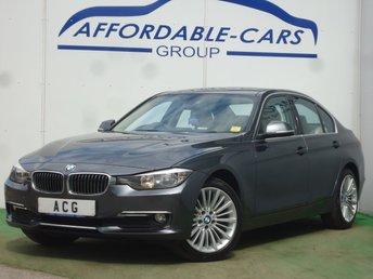 2015 BMW 3 SERIES 2.0 318D LUXURY 4d 141 BHP £9950.00