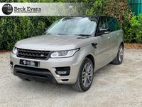 USED 2015 15 LAND ROVER RANGE ROVER SPORT 3.0 SDV6 HSE DYNAMIC 5d AUTO 288 BHP IVORY LEATHER