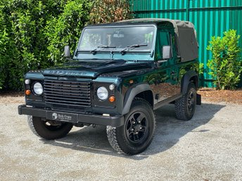 2014 LAND ROVER DEFENDER 90 2.2 TD PICK UP 2d 122 BHP £19995.00