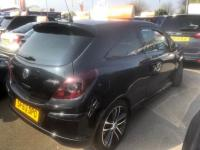 USED 2013 63 VAUXHALL CORSA 1.4 i 16v Black Edition (s/s) 3dr (a/c) RAC APPROVED ONLY 23000 MILES!