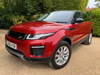 USED 2016 16 LAND ROVER RANGE ROVER EVOQUE 2.0 ED4 SE TECH 5d 148 BHP Only £20 to tax for the year , 1 owner from new , Just been serviced , 12 months mot