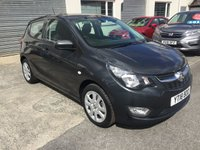 2018 VAUXHALL VIVA 1.0 SE AC 5d 74 BHP low insurance £6995.00