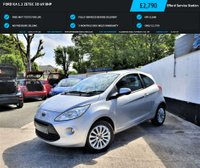 USED 2009 59 FORD KA 1.2 ZETEC 3d 69 BHP