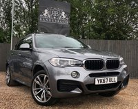 USED 2017 67 BMW X6 3.0 XDRIVE30D M SPORT 4dr AUTO  Stunning Example, FBMWSH