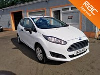 USED 2015 W FORD FIESTA 1.2 STUDIO 3d 59 BHP Low Road Tax, Low Insurance, Excellent Fuel Consumption, Free RAC warranty