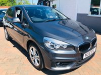 USED 2016 16 BMW 2 SERIES 2.0 218D SE ACTIVE TOURER 5d 148 BHP