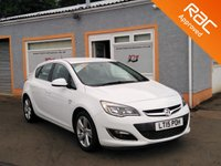 "USED 2015 15 VAUXHALL ASTRA 1.6 SRI 5d 113 BHP 17"" alloys, Bluetooth, Low Mileage, Cruise Control, Front Fog lights"