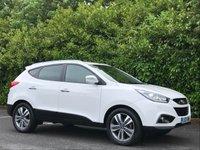 2013 HYUNDAI IX35 2.0 CRDI PREMIUM 5d AUTO 134 BHP £9850.00