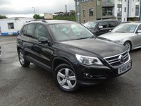 USED 2010 60 VOLKSWAGEN TIGUAN 2.0 ESCAPE TDI 4MOTION DSG 5d AUTO 138 BHP NEW SERVICE+NEW MOT+TOP SPEC