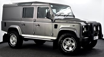 2007 LAND ROVER DEFENDER 110 2.4 TDi XS Utility 4X4 5dr £19995.00