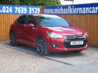 2012 CITROEN DS4 2.0 HDI DSPORT 5d 161 BHP £5795.00
