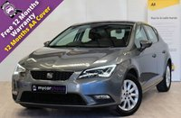 USED 2016 16 SEAT LEON 1.2 TSI SE TECHNOLOGY 5d 110 BHP SAT NAV, TECHNOLOGY PACK, LED HEADLIGHTS, FSH