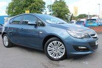 USED 2013 13 VAUXHALL ASTRA 1.4 ENERGY 5d 98 BHP 1 OWNER FROM NEW - FULL SERVICE HISTORY - RARE BLUETOOTH UPGRADE - 17'' ALLOY WHEELS
