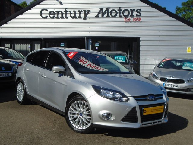 2013 13 FORD FOCUS 1.6 TDCI ZETEC 5d + APPEARANCE PACK