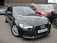 USED 2012 12 AUDI A6 2.0 TDI SE 4d 175 BHP ANY PART EXCHANGE WELCOME, COUNTRY WIDE DELIVERY ARRANGED, HUGE SPEC