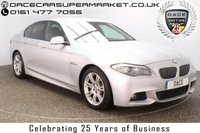 USED 2012 62 BMW 5 SERIES 2.0 520D M SPORT 4DR AUTO SAT NAV HEATED LEATHER 181 BHP FULL SERVICE HISTORY + HEATED LEATHER SEATS + SATELLITE NAVIGATION + PARKING SENSOR + BLUETOOTH + CRUISE CONTROL + CLIMATE CONTROL + MULTI FUNCTION WHEEL + PRIVACY GLASS + XENON HEADLIGHTS + ELECTRIC SEATS + DAB RADIO + ELECTRIC WINDOWS + RADIO/CD/AUX/USB + ELECTRIC MIRRORS + 18 INCH ALLOY WHEELS
