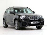 2016 BMW X3 3.0 XDRIVE30D M SPORT 5d AUTO 255 BHP [£5,365 OPTIONS] £23380.00