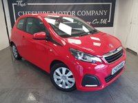USED 2017 66 PEUGEOT 108 1.0 ACTIVE 3d + 1 OWNER + HISTORY + 2 KEYS