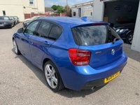 USED 2015 64 BMW 1 SERIES 2.0 120d M Sport Sports Hatch xDrive (s/s) 5dr FULL BMW SERVICE HISTORY