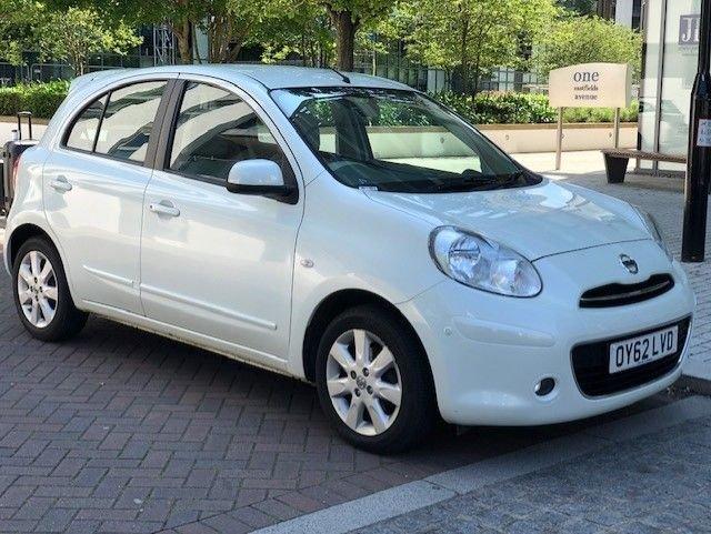 2012 62 NISSAN MICRA 1.2 DIG-S SHIRO 5d AUTO 97 BHP