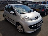 USED 2008 58 PEUGEOT 107 1.0 URBAN MOVE 5d 68 BHP